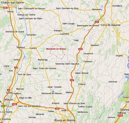 Ferrand terrassement en Bresse